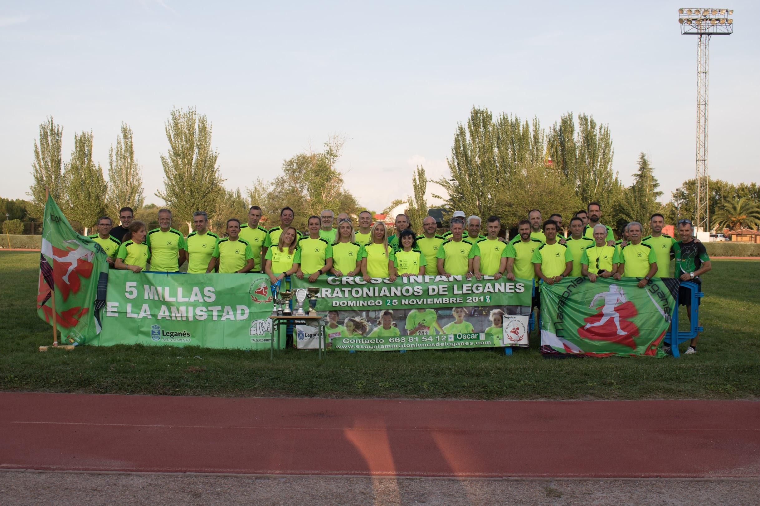 Presentación de los Maratonianos de Leganes, Temporada 2019/20.
