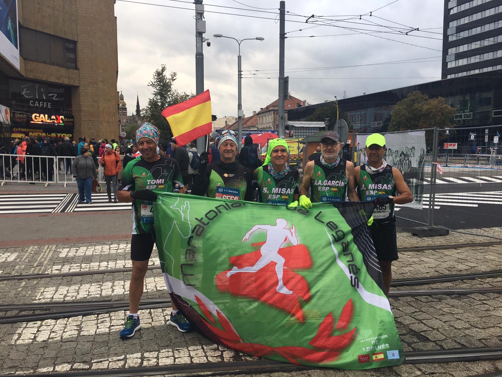 Gran actuación de nuestros atletas en el Maratón y Medio Maratón de Kosice.